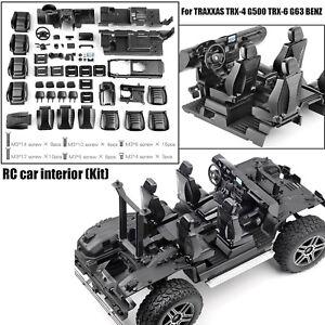 1-10-RC-Car-Internal-Center-Cab-Fuer-TRAXXAS-TRX4-TRX6-BENZ-G500-G63-6x6-Auto-DIY