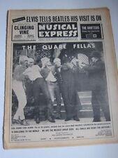 NME Sep 4 1964 Beatles Elvis Zombies Marianne Faithful Stones Manfred Mann