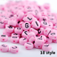 NEW-200-1000pcs-7mm-Mixed-A-Z-Alphabet-Letter-Acrylic-Spacer-Beads-heart-bead thumbnail 12