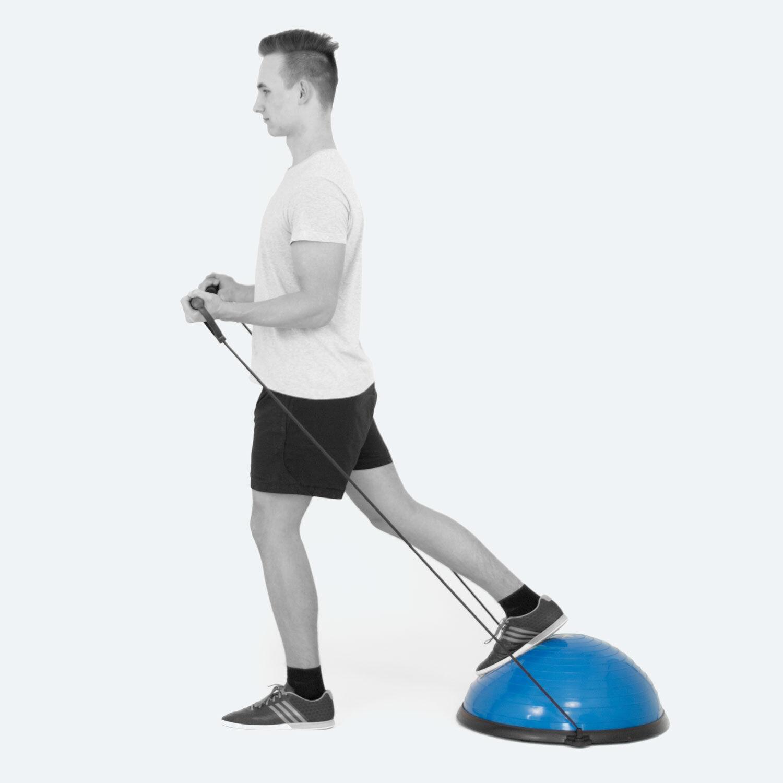 TheraPIE Balance Trainer incl. Pumpe | Gleichgewicht | Trainingsgerät ca. Ø58cm