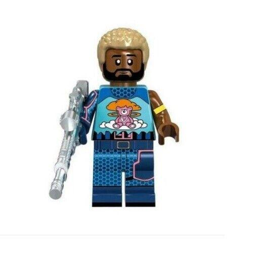 G3 Nuovo in Blister Custom Minifigure Gashapon LEGO FORTNITE Brite Gunner