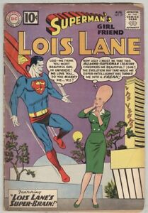 Superman-s-Girl-Friend-Lois-Lane-27-August-1961-G-VG-Bizzaro