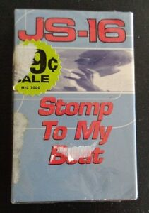 JS-16 STOMP TO MY BEAT Cassette Single NEW Free Shipping 1998 Sealed