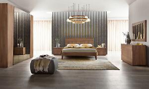 Schlafzimmer Komplett-Set Modern Ulmenholz Struktur Modern ...