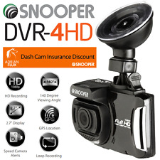 """NEW 2017"" SNOOPER DVR-4HD DASH WITNESS CAMERA & GPS SPEED TRAP CAMERA DETECTOR"