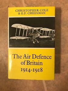 The-Air-Defence-Of-Britain-1914-1918-WWI-British-RFC-1st-edit-hc-dj