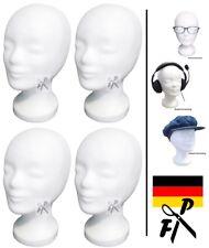 4 x FP Styroporkopf Perückenkopf Dekokopf - TOP Markenqualität aus Deutschland