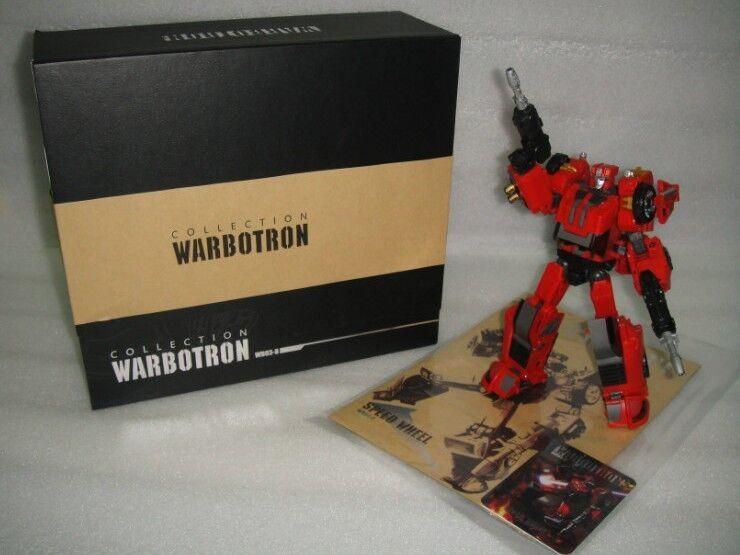 NUOVO WARBOTRON Transformers WB03B COMPUTRON luciPEED azione cifra in magazzino