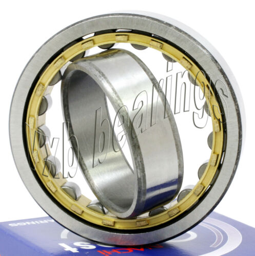 NU208MY Nachi Cylindrical Roller Bearing Bronze Cage Japan 40x80x18 10286