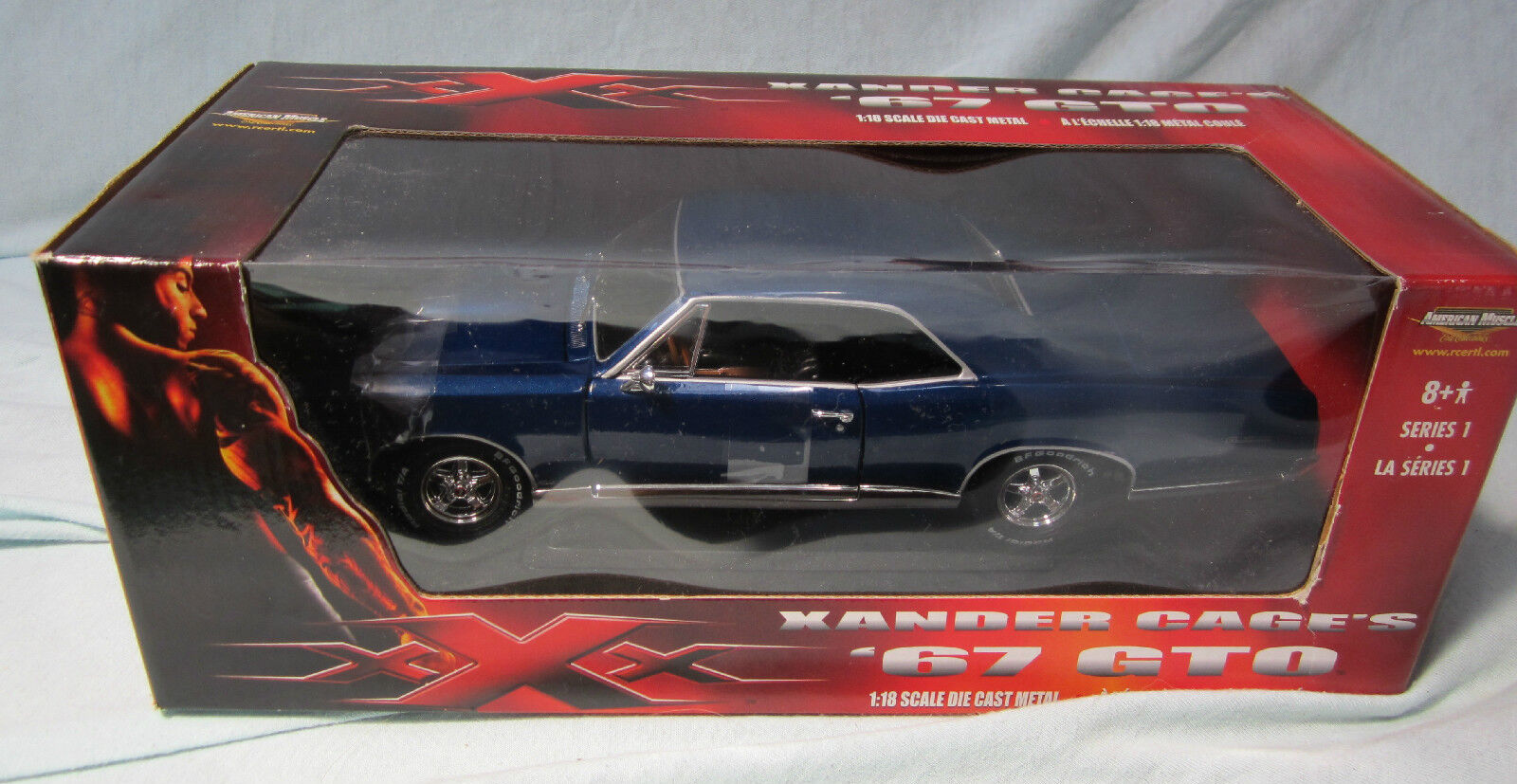 ERTL AMERICAN MUSCLE XANDER CAGE'S 1967 GTO Series Series Series 2 from XXX Movie -NEW IN BOX 2c1f6f