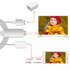 1080P-HDMI-AV-HD-TV-Adapter-Adaptor-Video-Cable-Cord-Wire-for-Samsung-NOTE-9
