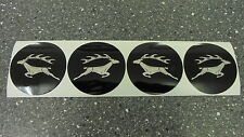 Triumph STAG ** WHEEL CENTRE BADGE SET ** Stick on - for alloy wheel centres