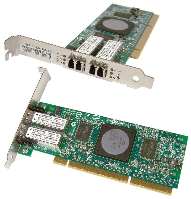 IBM 39M6014 Dual Port 4GB FC PCIx Card New QLA2462-IBMX 64Bit QLogic 133Mhz Adap