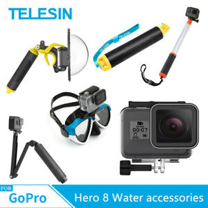 TELESIN-For-Gopro-Hero-8-Water-accessories-Diving-surfing-Underwater-photography
