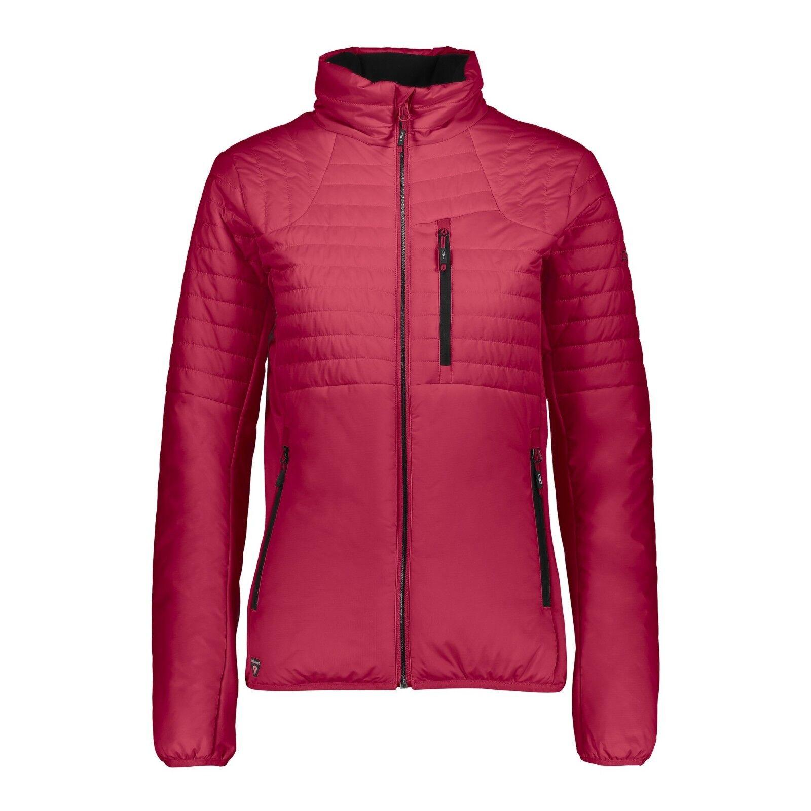 CMP Jacke 38Z0916 damen Jacket Damen Steppjacke Primaloft corallo Langlauf 36-48