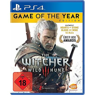 PS4 Spiel The Witcher 3: Wild Hunt - Game of the Year Edition GOTY NEUWARE