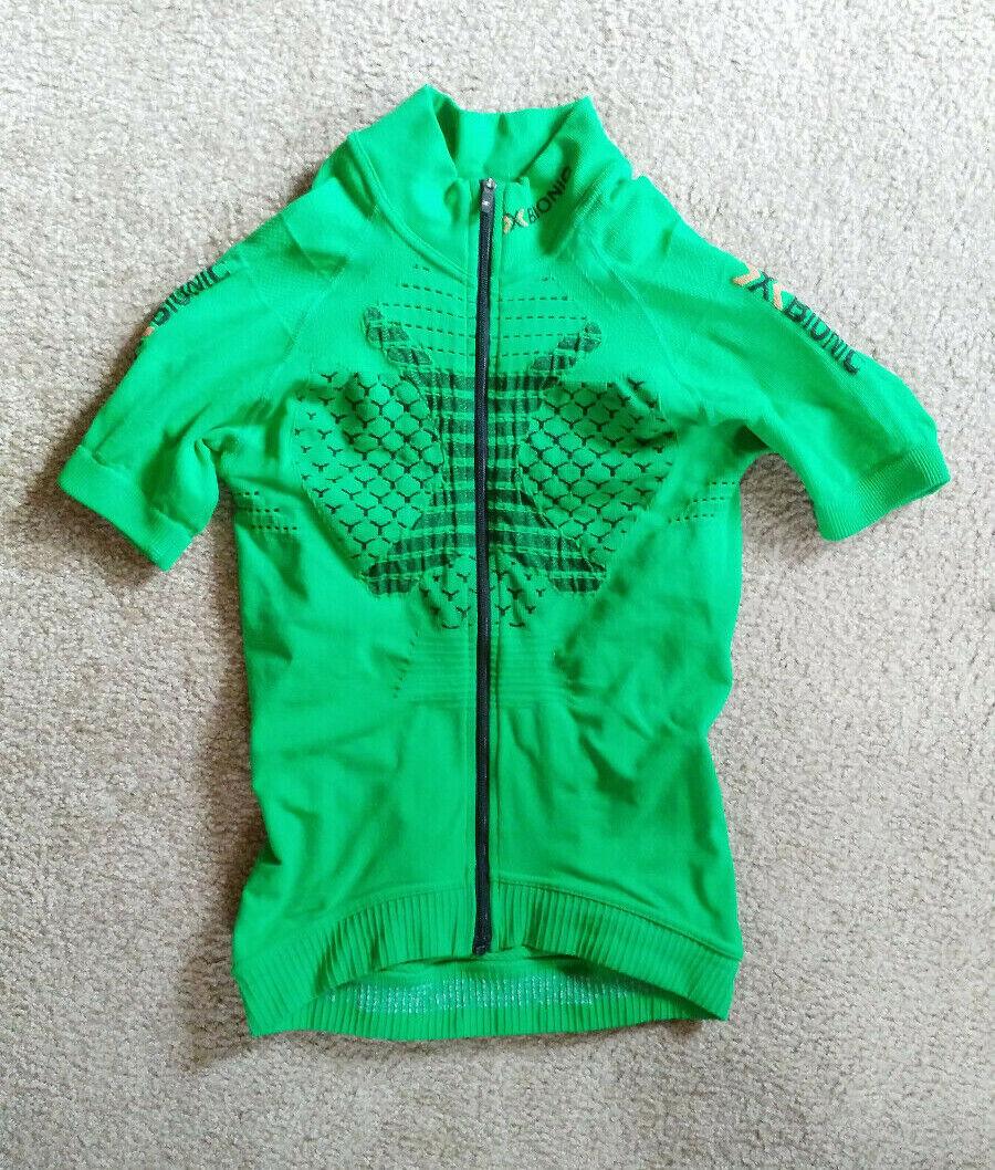 X Bionic Twyce Fahrrad shirt, Herren S, grün, neu