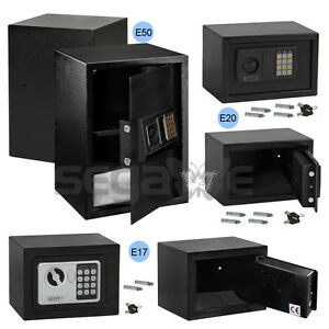 Digital Electronic Safe Box Keypad Lock Home Hotel Office Gun New Black