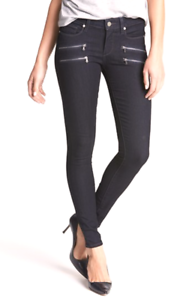 NWT Paige Denim Edgemont Ultra Skinny Jeans deep purple size 23 XS XXS orig