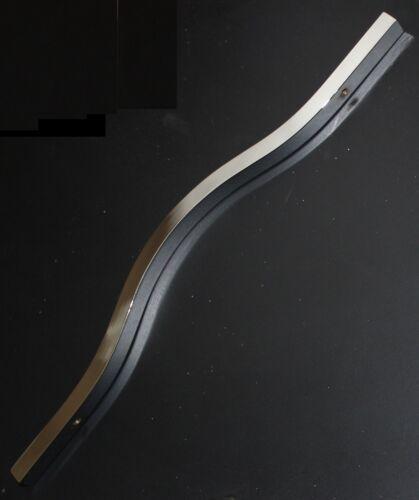 224mm vis espacement Chrome poli nœud poignée 314mm long vis 25mm inclus