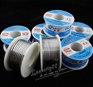 Bulk-10g-100g-60-40-Tin-lead-Solder-Wire-Rosin-Core-Soldering-2-Flux-Reel-Tube