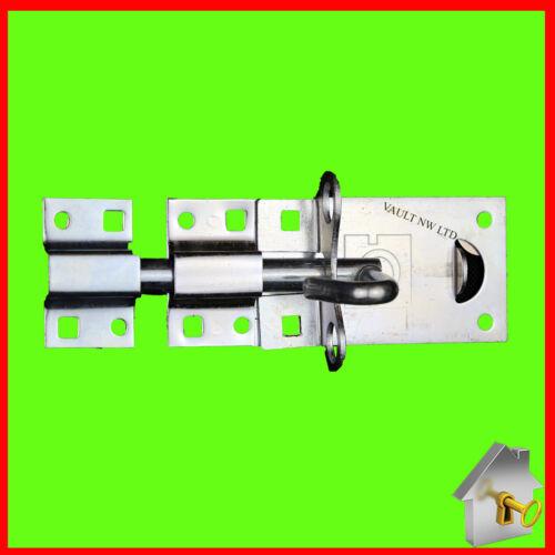Padbolt Steel Garden Lock Gate Lock Sliding Gate Bolt Heavy Duty