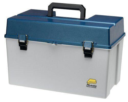 Plano Molding 791502 plano gran  juego Tackle Box-Plata Azul Metálico  estar en gran demanda
