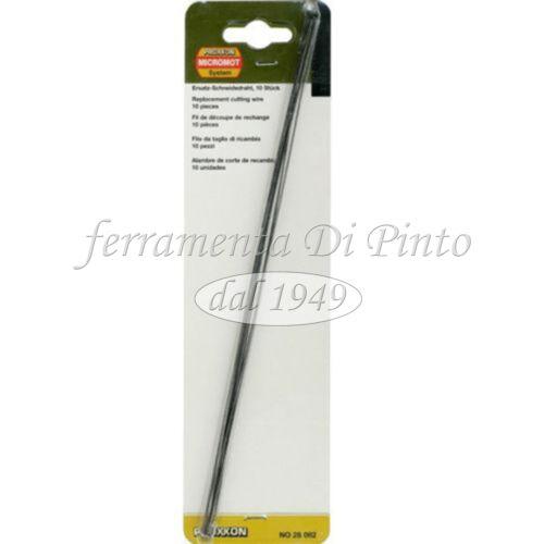 10 Lame Ricambi Taglia polistirolo elettrico ad arco Taglio termic Proxxon 28082