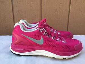 wholesale dealer feda6 40e49 Image is loading EUC-Nike-Womens-LunarGlide-4-Running-Shoes-US-