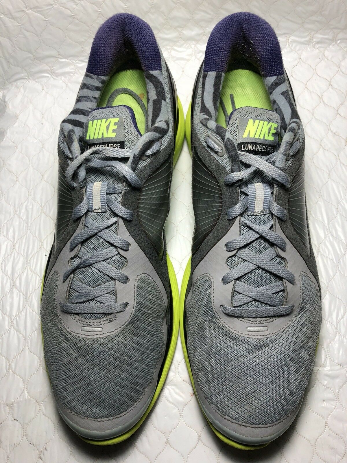 Nike Lunar Eclipse Men's Gray Running Shoes Comfortable