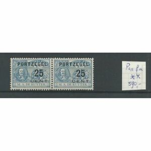 Nederland-P41fa-Port-034-E-N-034-MNH-postfris-CV-590-certificaat-NVPH