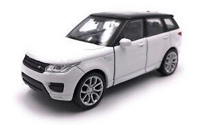 Voiture-miniature-RANGE-ROVER-SPORT-SUV-blanc-voiture-echelle-1-34-39-LGPL