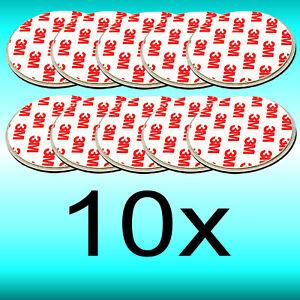 10 Stck Magnet Magnethalter Befestigung 3M Feuermeder Rauchmelder REV Ei NEMAXX