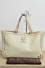 Gucci Abbey Large All Leather Shopper Tote Bag GentlyUsed Authentic w/ Dustbag