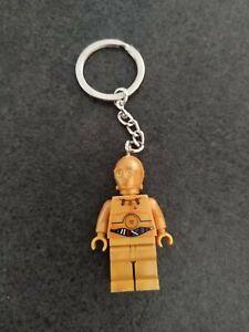 Porte-Cle-Keychain-Lego-Star-Wars-C3p0
