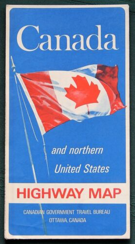 CANADA orig 1968 Highway Map