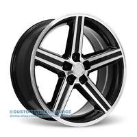 20 Iroc Vw248 Black Rims For Chrysler Chevrolet Dodge Ford Wheels