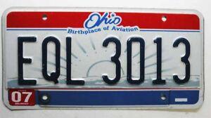 910 Plaque d Immatriculation USA Ohio