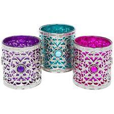 Set di 3 bellissime marocchino tè luce portacandele LANTERNE Marocco ORNAMENTI