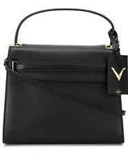 Valentino Garavani Black Leather 'My Rockstud' Small Tote Hand Bag New
