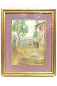 Gemaelde-Italienische-Landschaft-signiert-Scotti