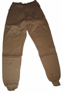 Small Military Polyproylene ECWS Cold Weather Thermal Long John Underwear  Size