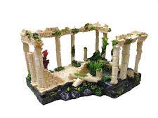 Ancient Roman Ruins Ornament for Aquarium Fish Tank Decoration Terrarium 12184