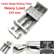 Xyz Axis Heavy Load Linear Rail Sliding Table Sfu1605 Ballscrew For Cnc Milling
