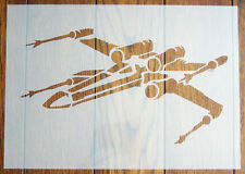 X-Wing Star Wars Stencil Reusable Mylar Sheet for Arts & Crafts, DIY