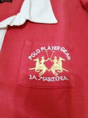Felpa La Martina Tg 14 Maglietta T-shirt Pari Al Nuovo