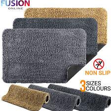 Super Absorbent Door Mat Magic Non Slip Rubber Backing Outdoor Indoor Mats Rug