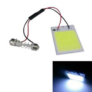 1X-48-SMD-COB-LED-T10-4W-12V-White-Light-Car-Interior-Panel-Light-Dome-Lamp