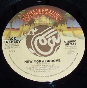 KISS-SINGLE-7-034-NEW-YORK-GROOVE-PRC-R1-II-I-PRC-R1-I-I-USA-VINYL