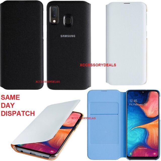 Genuine Samsung Flip Case Galaxy A20e mobile cell phone cover original sm 202f